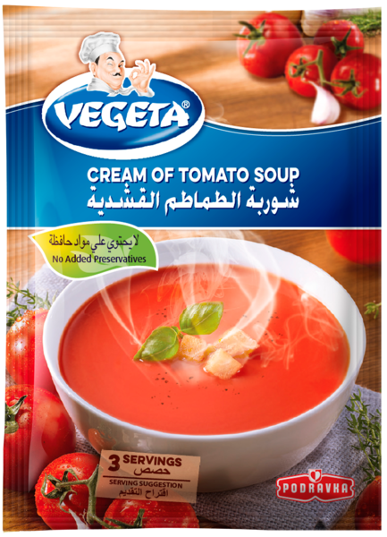 Vegeta Cream of Tomato Soup