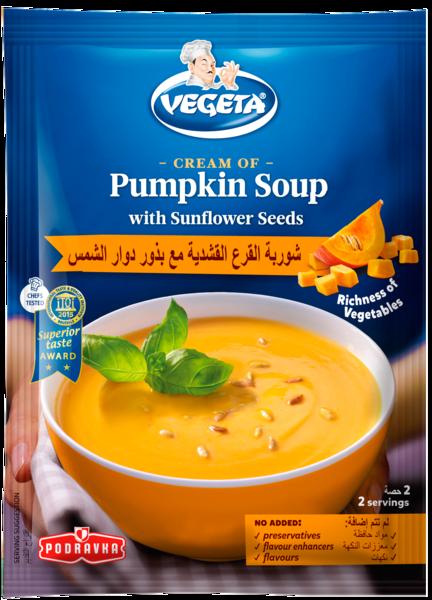 Vegeta Cream of Pumpkin Soup with Sunflower Seeds