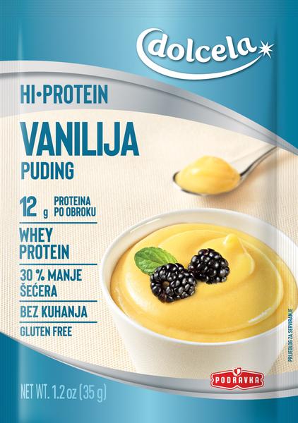 HI Protein puding vanilija
