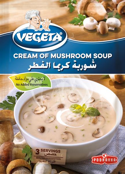 Vegeta Cream of Mushroom Soup