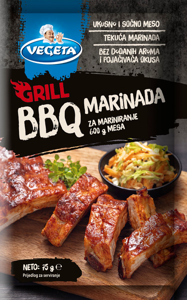 Vegeta Grill marinada BBQ