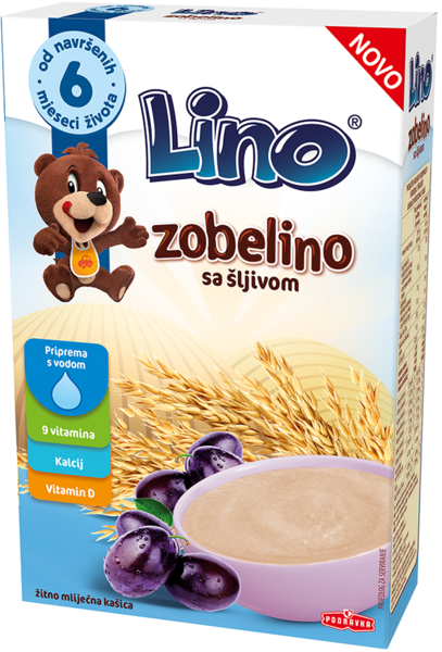 Lino Zobelino sa šljivom