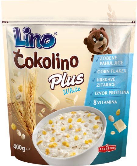 Čokolino Plus White