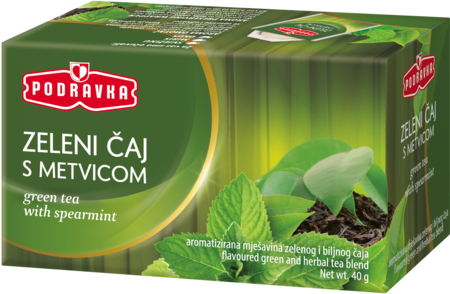 Zeleni čaj s metvicom