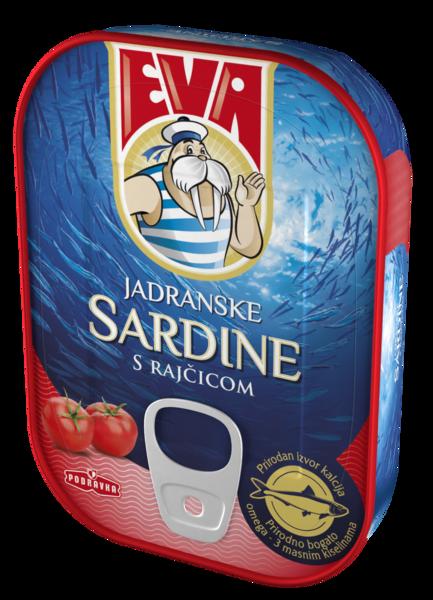 Jadranske sardine s rajčicom
