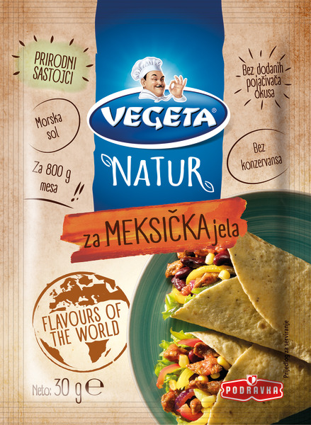 Vegeta Natur za meksička jela