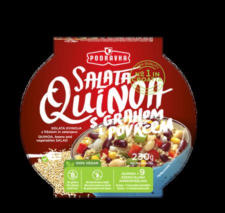 Salata quinoa s grahom i povrćem