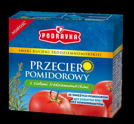 Przecier pomidorowy z ziołami śródziemnomorskimi