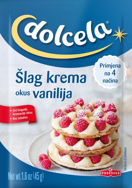 Šlag krema okus vanilija