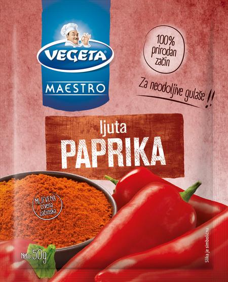 Ljuta paprika - mljevena crvena začinska