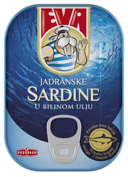 Eva Sardine in ulei vegetal