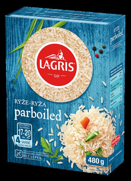 Ryža parboiled varné vrecká