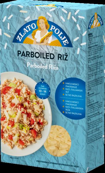 Riža parboiled vakuum