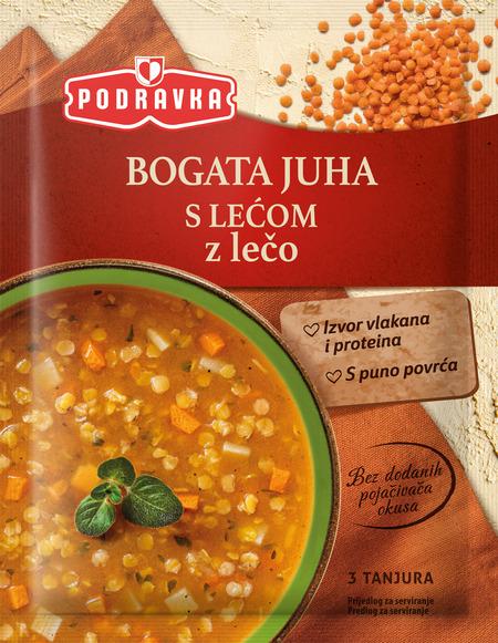 Bogata juha z lečo