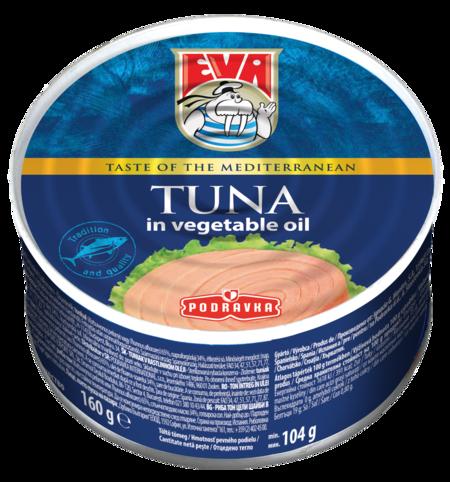 EVA Tuniak v rastlinnom oleji