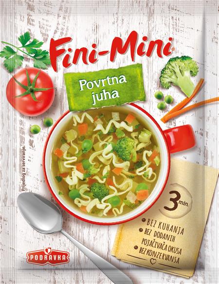 Fini Mini Vegetable soup