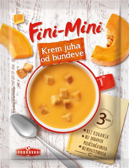 Fini-Mini krem juha od bundeve