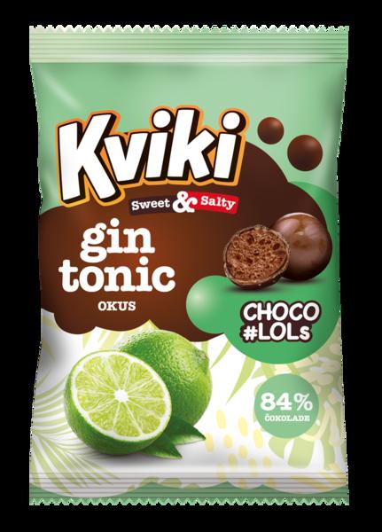 Kviki CHOCO #LOLS gin tonic