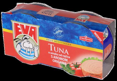 Tuna komadi u umaku od rajčice s aromom origana