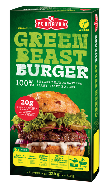 Green beast burger