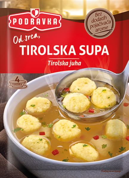 Tyrol soup