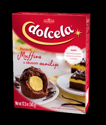 Polnjeni muffini z okusom vanilije