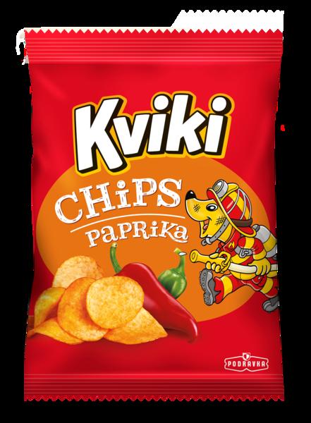 Kviki čips paprika