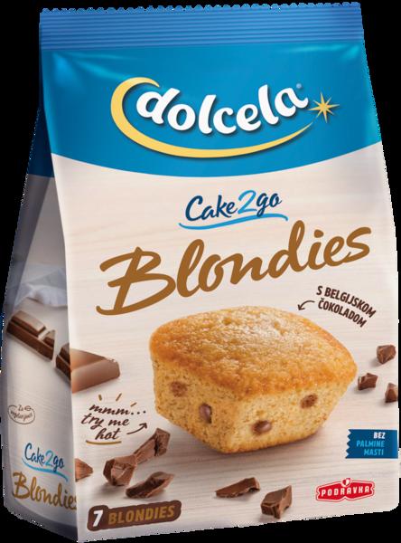Cake2go blondies