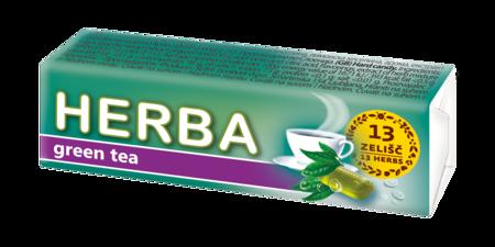 Herba tvrdi bomboni zeleni čaj