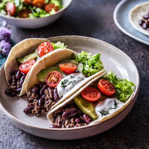 Tacosi s grahom