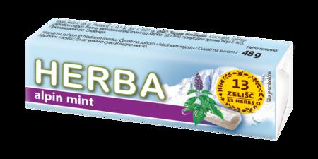 Herba tvrdi bomboni alpin mint