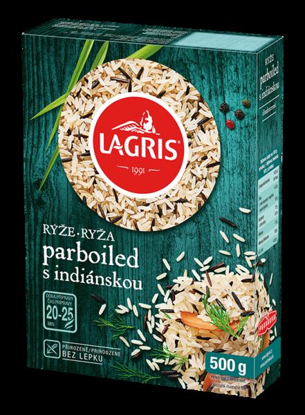 Rýže parboiled s indiánskou