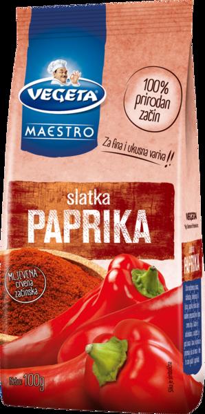 Slatka paprika - mljevena crvena začinska