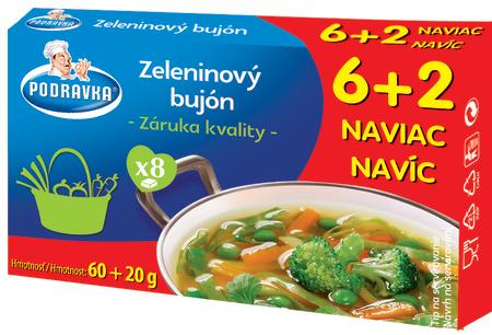 Zeleninový bujón kostky