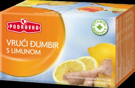 Vrući đumbir s limunom