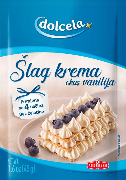 Whipped cream vanilla