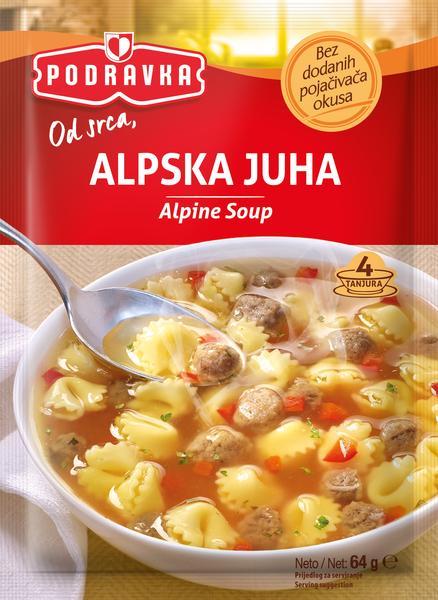 Alpine soup