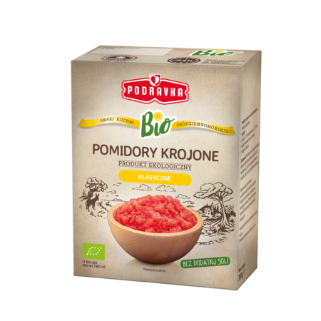 Pomidory krojone Podravka BIO