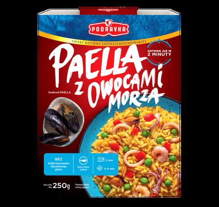 Paella z Owocami Morza danie gotowe