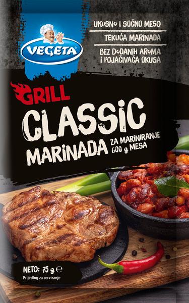 Vegeta Grill marinada classic