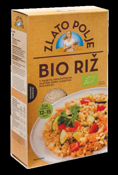 Крупа рисовая. Рис органический ZLATO POLJE BIO