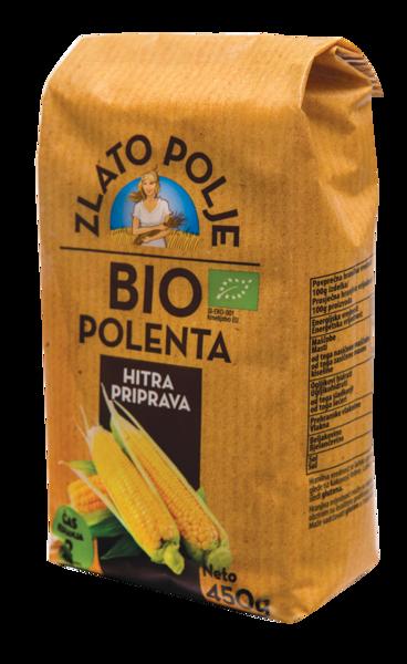 Крупа кукурузная полента органическая ZLATO POLJE BIO