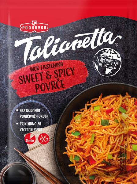 Wok tjestenina sweet&spicy povrće
