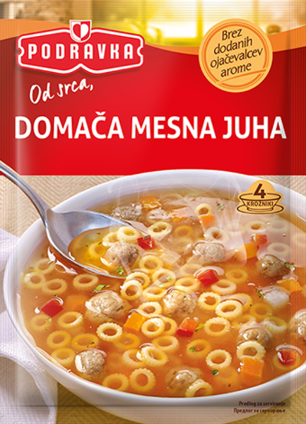 Domača mesna juha