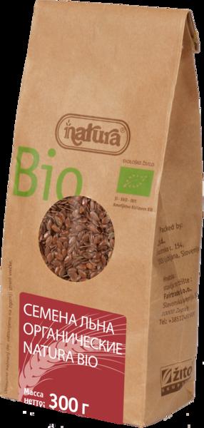 Семена льна органические NATURA BIO