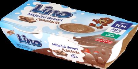 Lino mlečni desert čokolada
