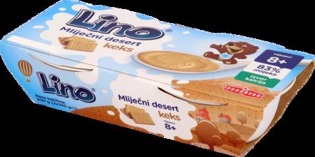 Lino mliječni desert keks