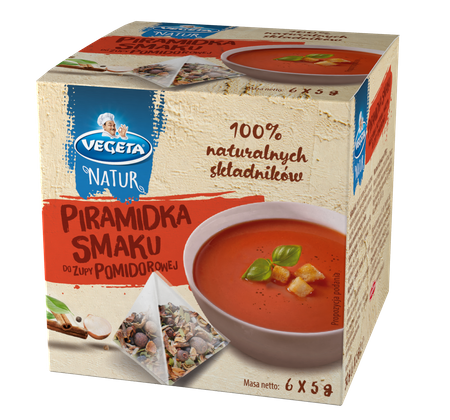 Piramidki Smaku do zupy pomidorowej