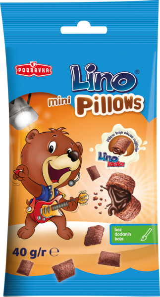 Lino Pillows snack – pillows with Lino lada filling