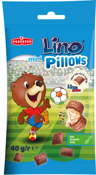 Lino mini pillows filled with Lino lada milk